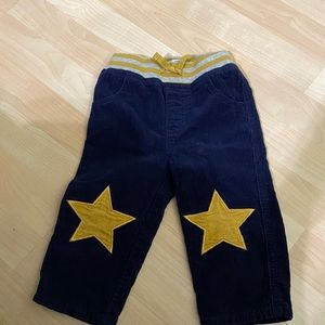 Baby Boden Boys Navy Corduroy Pants 18-24 months